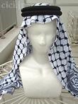 アラブ男性衣装・カフィーヤとイカール